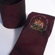 Maroon Tie - Silk